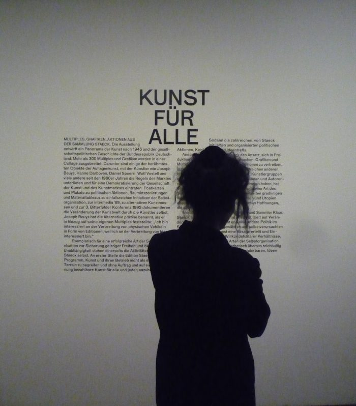 Kunst für alle - Multiples, Grafiken, Aktionen aus der Sammlung Klaus Staeck, Akademie der Künste, 2015 | Foto © Marcus Müller | Journalist | Berlin
