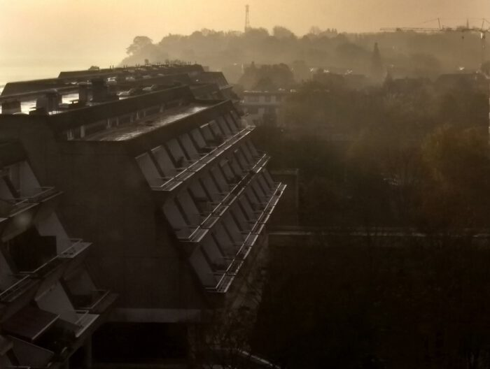 Brutalismus, Kiel, Schilksee, brutalism in the morning, © Marcus Mueller | Journalist | Berlin